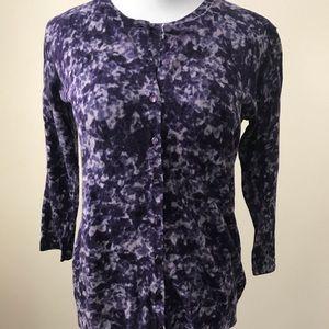Nine Options Petite floral sweater set
